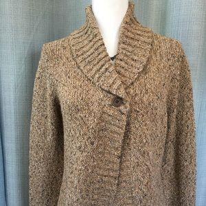 Charter Club Tan Knit Cardigan Sweater